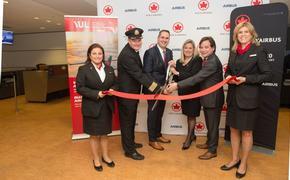 Vol inaugural A220-300 Air Canada