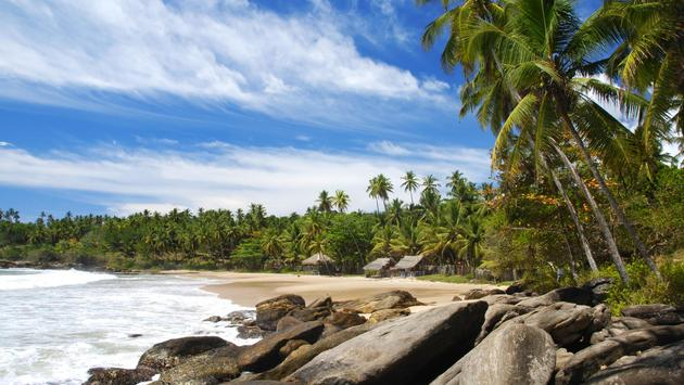 Beach in Tangalle, Sri Lanka