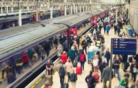 Paddington station in London, U.K.