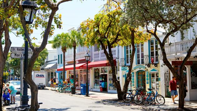 Duval Street in downtown Key West