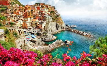 beautiful places of Italy - Monarola village (Cinque terre)