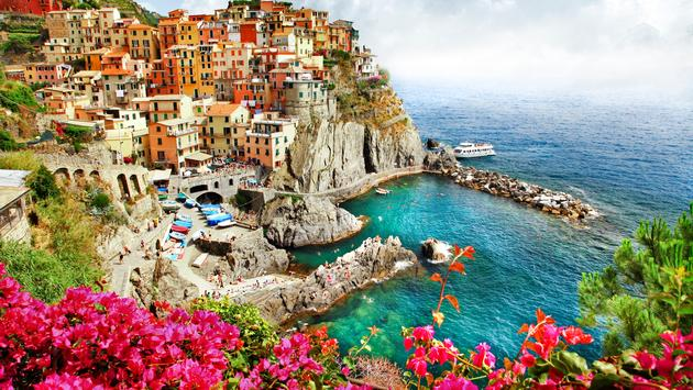 beautiful places of Italy - Monarola village (Cinque terre)