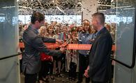 Avoya Co-Presidents, Jeff and Michael Anderson, at ribbon-cutting ceremony.