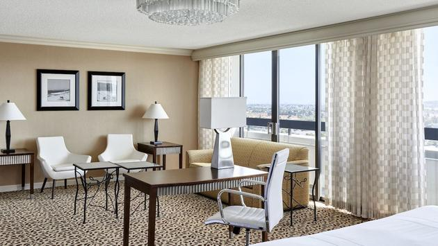 The Hospitality Suite at the Torrance Marriott Redondo Beach hotel
