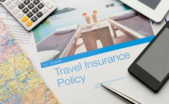 Travel insurance policy documents