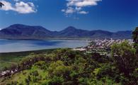 A view of Cairns, Australia from the north. Gateway to the Great Barrier Reef