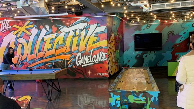 The Collective GameLounge in Snowmass