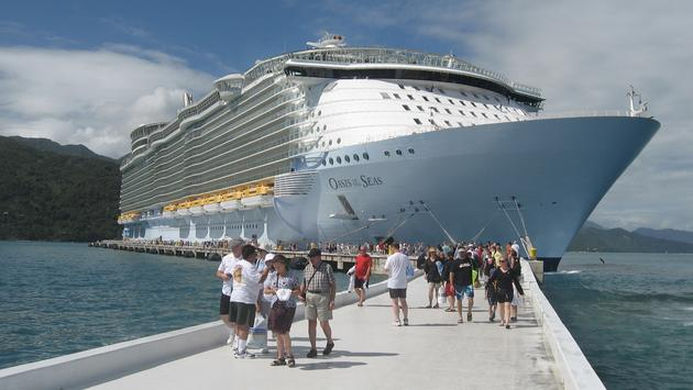 Royal Caribbean's Oasis of the Seas.