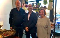 Jerry Adler, Gal Hana and Ellen Melman from Go Israel
