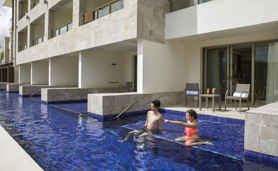 swim-up suite at Royalton Bavaro, Punta Cana