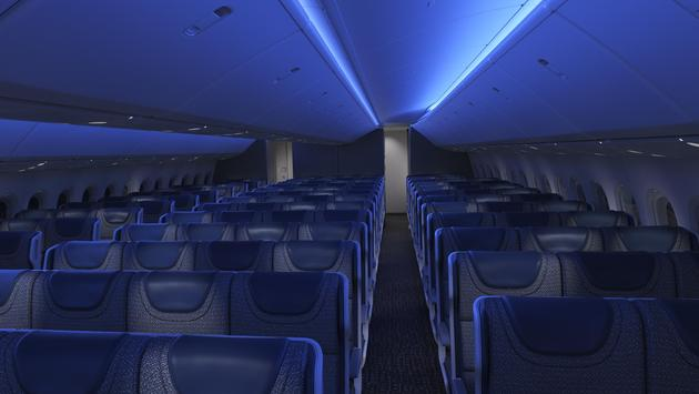 Boeing 777X cabin mock-up