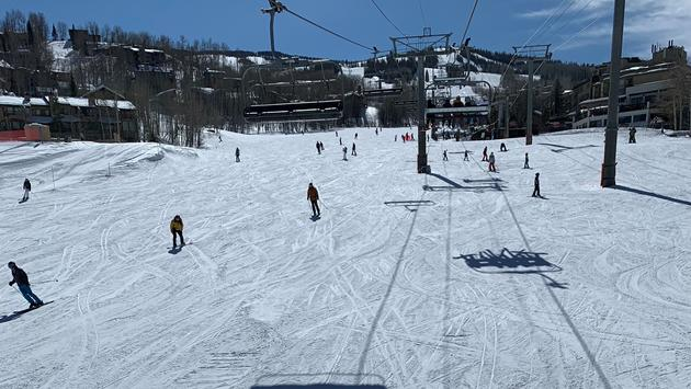 Ski lift at Snowmass