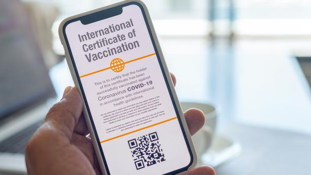 Concept for a digital International Certificate of COVID-19 Vaccination.