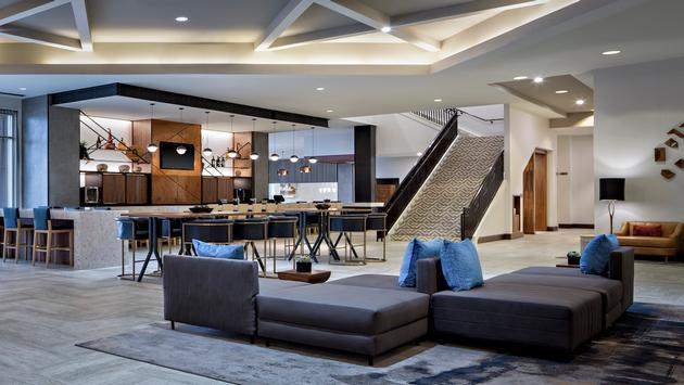 Marriott Dallas Las Colinas Lobby