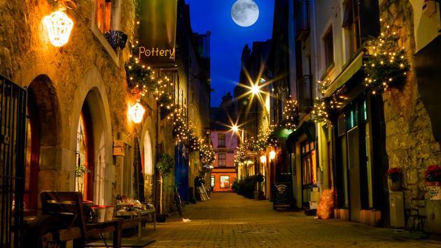 Galway Street at Night