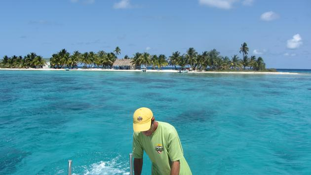 Laughing Bird Cay in Belize