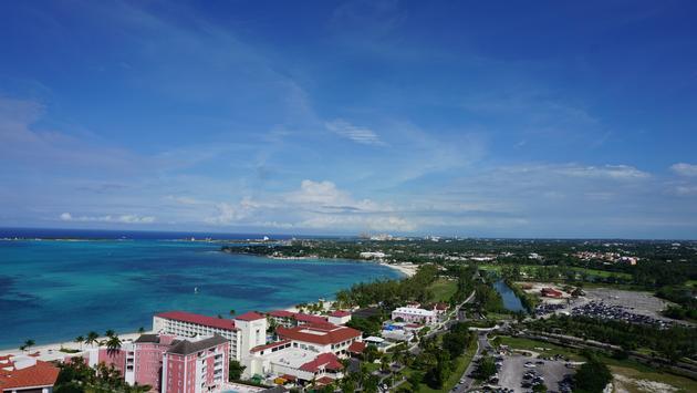 Cable Beach Bahamas landscape