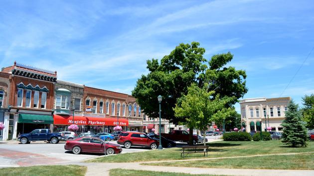 Downtown Winterset, Iowa