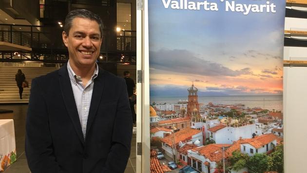 Carlos Eguiarte, coordonnateur de promotion de l'Office de tourisme de Riviera Nayarit