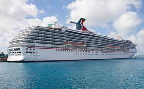Carnival Pride docked in Nassau, Bahamas