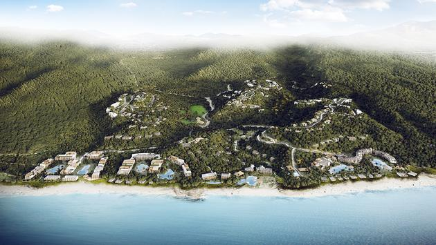 Rendering of Nia, Marriott's planned all-inclusive destination in Mexico's Riviera Nayarit