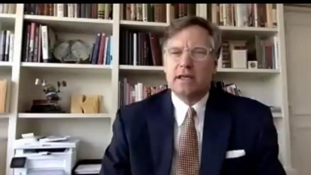 El embajador de Estados Unidos en México, Christopher Landau.