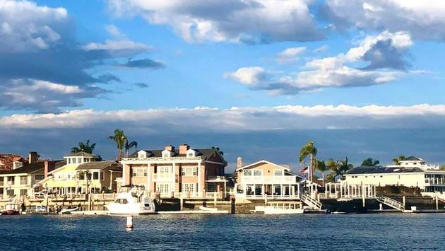 Cruise views of Huntington Beach Harbor
