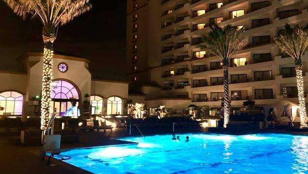 Pool at Waterfront Beach Resort