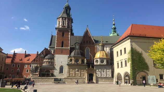 Once home to Polish royalty, Wawel Castle is now a cultural attraction. (Photo by Mimi Kmet)