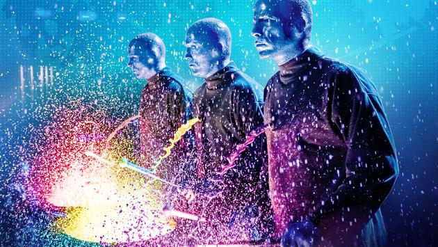 Blue Man Group Off Broadway