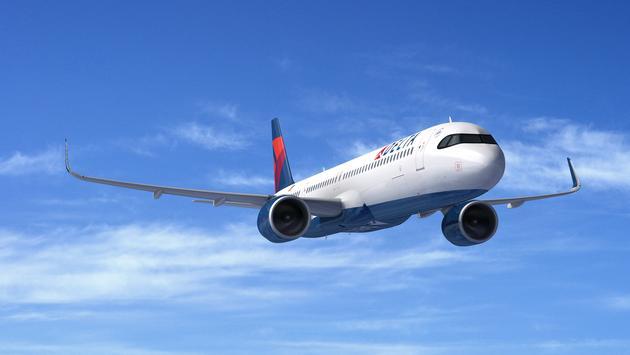 Delta's Airbus A321neo.