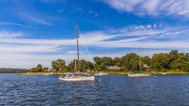 Sailing in Long Island, New York