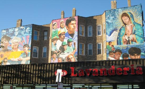 Pilsen, Hispanic, Latino, Mural, Chicago