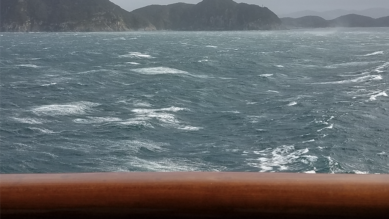 Outrunning Super Typhoon Hagibis on Holland America's Westerdam