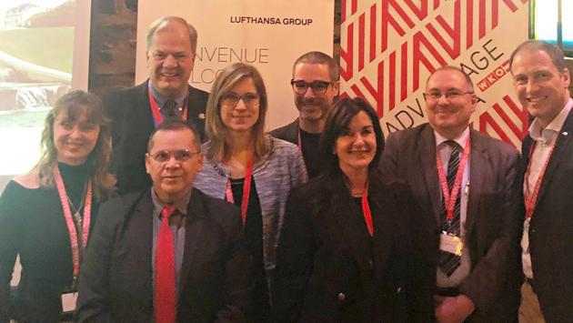 La délégation du consulat général d'Autriche à Montréal et du Bureau du tourisme de Vienne.