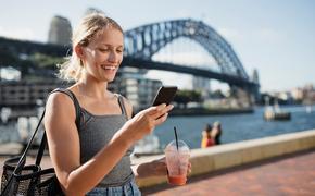 Solo female traveler in Sydney Australia