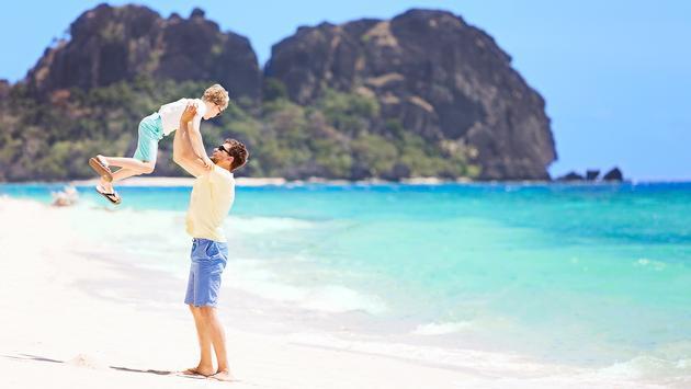 Family holiday in Fiji