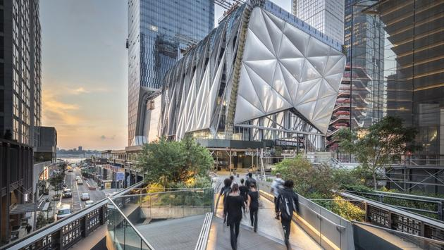 The Shed/Hudson Yards New York City