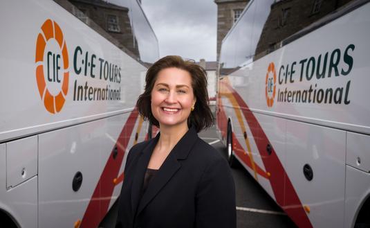 CIE Tours CEO, Elizabeth Crabill