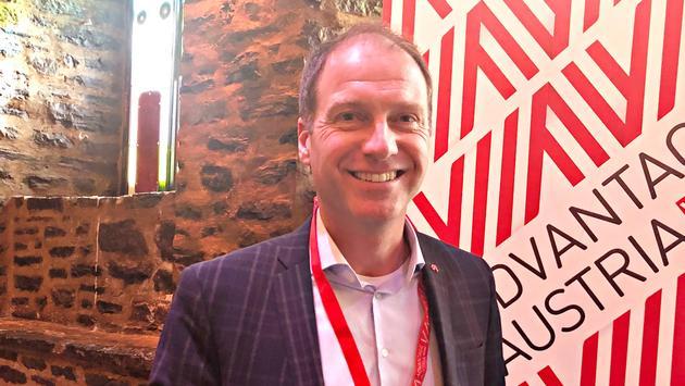 Christop Plank, délégué de la Chambre de commerce d'Autriche.