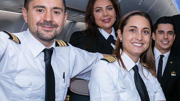 Aeroméxico logró acuerdos paralelos con pilotos y sobrecargos durante la negociación de sus Contratos Colectivos de Trabajo. (Foto de ASPA).