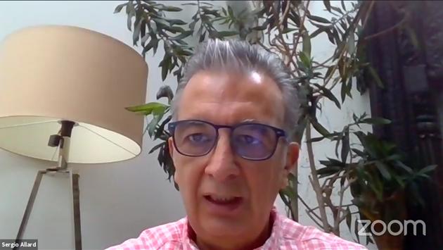 Sergio Allard Barroso, director ejecutivo de Relaciones Interinstitucionales de Aeroméxico