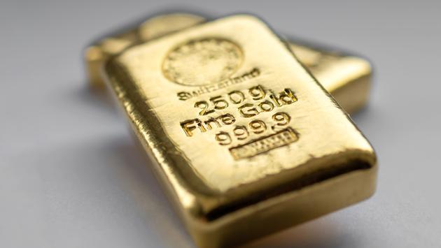 Two gold bullions.