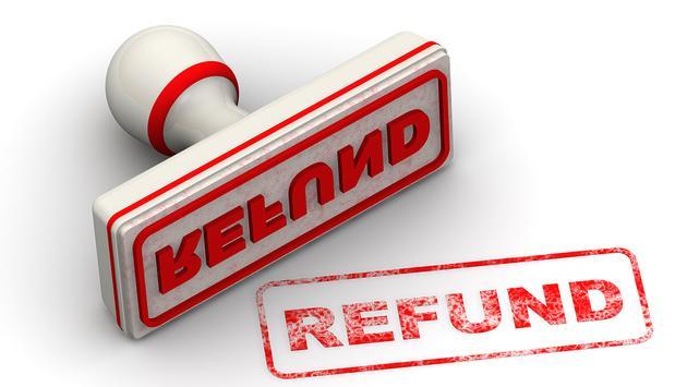 Refund stamp