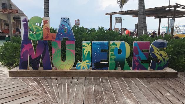 La Isla Mujeres, Mexique
