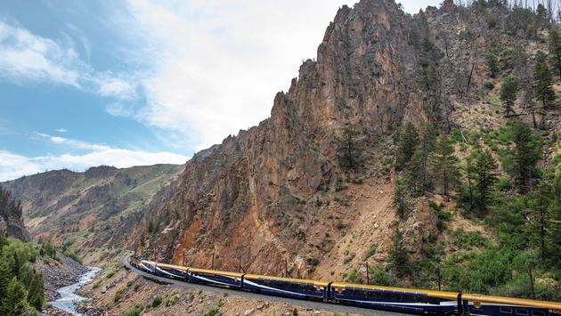 Rocky Mountaineer in the U.S.
