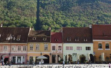 There are many reasons to visit the scenic town of Brasov, Romania