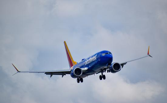 A Southwest Airlines 737 MAX