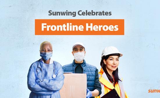 Sunwing Celebrates Frontline Heroes
