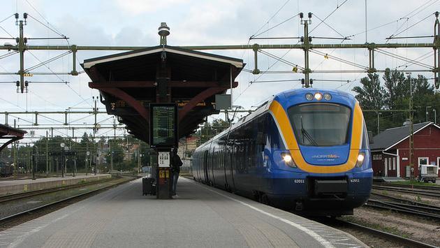 Swedish passenger train